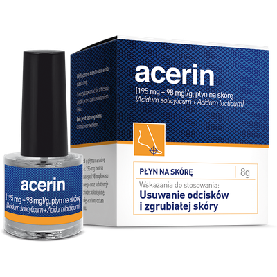 Acerin skin solution