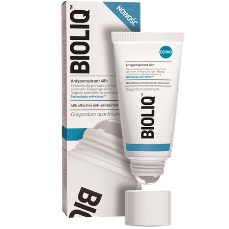 Bioliq Dermo 48h odour protection roll on Bioliq Dermo Antyperspirant 48h