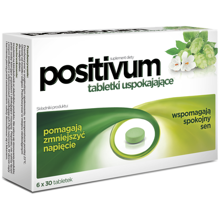 Positivum calming tablets 5906071004068